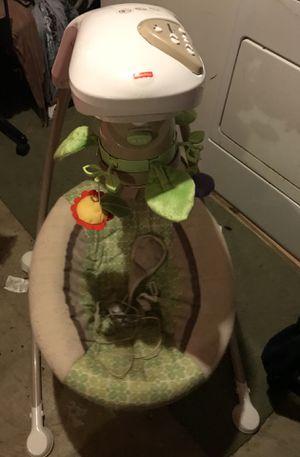Fisher Price Baby Swing & Rocker for Sale in Germantown, MD