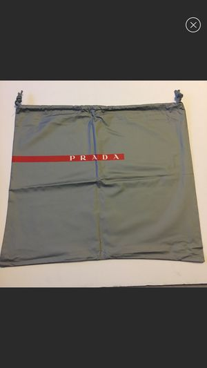 Prada drawstring Dust Bag for Sale in Elmwood Park, NJ