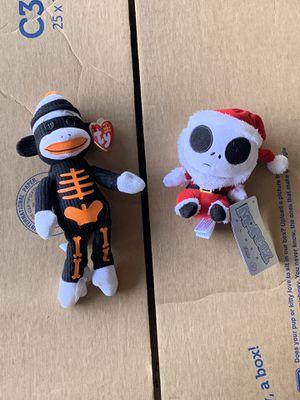 Halloween Beanie Baby & Nightmare Before Christmas Plushes for Sale in Murrieta, CA