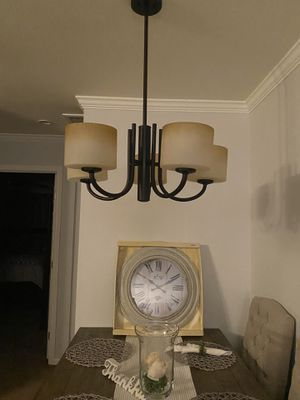 5-Light Bronze Finish Dining Room Chandelier for Sale in Buena Park, CA