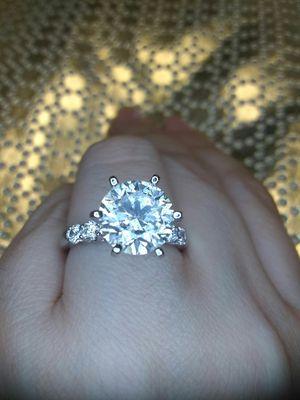 3 carat certified diamond engagement ring new for Sale in Atlanta, GA