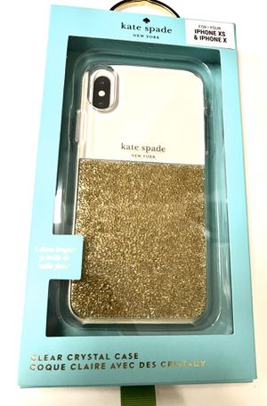 Kate Spade iPhone XS X Case Clear Crystal for Sale in Orange, CA
