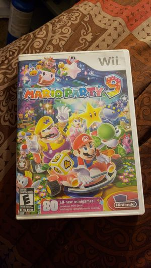 Wii Mario party 9 for Sale in Portland, OR