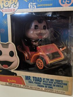 Mr. Toad At The Mr. Toads Wild Ride Attraction Funko Pop for Sale in Hacienda Heights,  CA