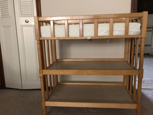 Wooden diaper table for Sale in Manchester, CT