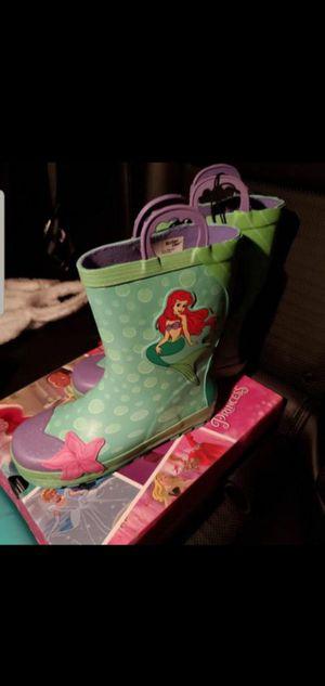 Rain boots mermaid for Sale in Anaheim, CA