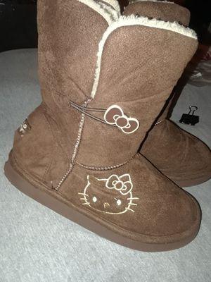 Girls Hello Kitty Slipper Boots for Sale in Gainesville, FL