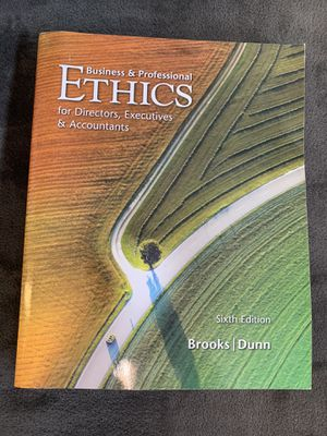 Business and professional ethics - brooks for Sale in Costa Mesa, CA