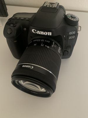 Canon 80D less than 2,000 pictures taken for Sale in Concord, CA