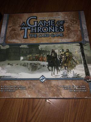 Game of thrones board game for Sale in Fresno, CA