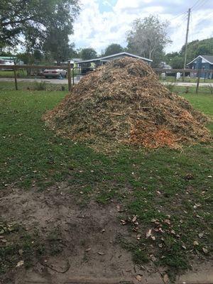 Free mulch for Sale in Bartow, FL