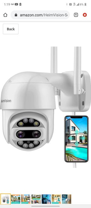 HHeimVision PTZ Security Camera for Sale in Victorville, CA
