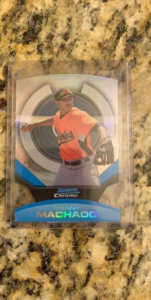 Manny Machado rookie card for Sale in Norwalk, CA