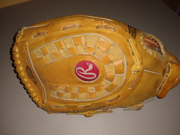 Rawlings SuperSize Fastback Leather ,Baseball Softball Glove 13.5 Inch LEFT Handed Thrower NICE
