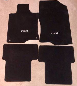 ACURA TSX OEM FLOOR MATS (brand new) for Sale in Wallingford, CT