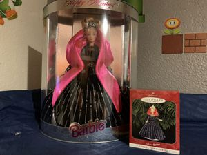1998 Holiday Barbie and Matching Hallmark Ornament for Sale in Phoenix, AZ
