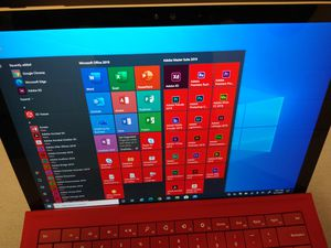 Surface Pro 4 w/Keyboard and Stylist - 256GB SSD - 8GB Ram - Windows 10 - Office 2019 - Photoshop and more... for Sale in Chicago, IL