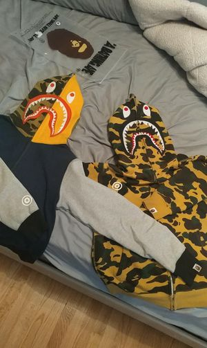 A Bathing Ape Shark Hoodie for Sale in Chicago, IL
