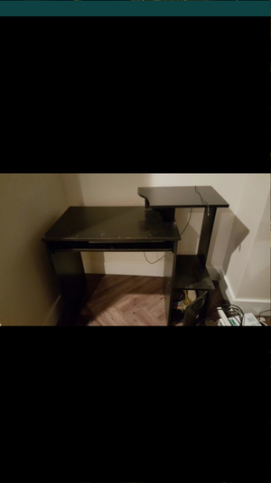 Desk with cabinet and printer stand for Sale in Detroit, MI