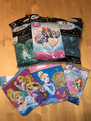 Princess Party Supplies for Sale in PA, US