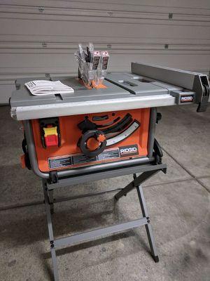 Rigid table saw 250 for Sale in Aliquippa, PA