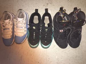 Jordans and foamposits TRADE OR SELL for Sale in Norfolk, VA