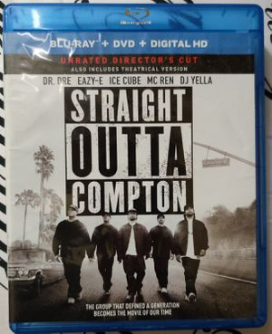 Straight Outta Compton Blu-Ray And DVD for Sale in Oakland, CA