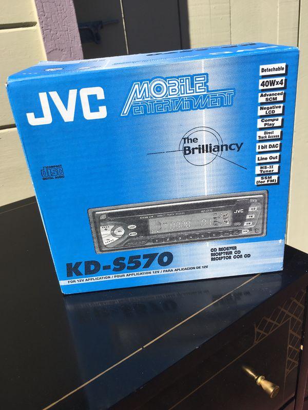 JVC Stereo/CD Receiver