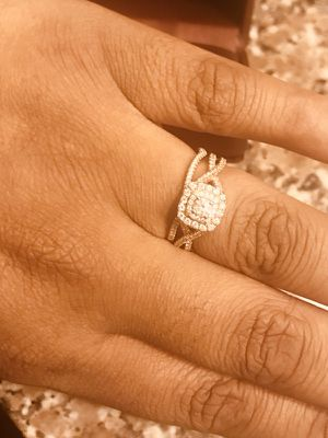 Rose Gold Two Set Wedding Ring for Sale in Cary, NC