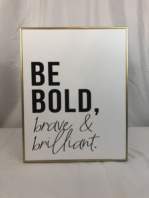 """Brave & Bold pic (14.1"""" x 11.1"""") for Sale in Tomball, TX"""