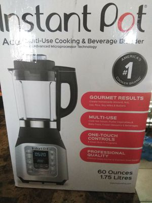 Instant pot blender/cooker/mixer for Sale in San Diego, CA