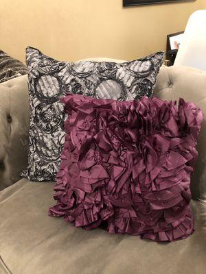 Z Gallerie Pillow Set for Sale in Arlington, VA