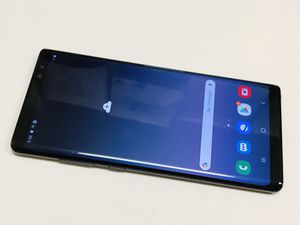 Unlocked Samsung Galaxy Note 8 64gb Works With Any Sim. Att, T-Mobile, metro pcs, Verizon, sprint, boost and Overseas. Great condition. Charger an for Sale in San Francisco, CA