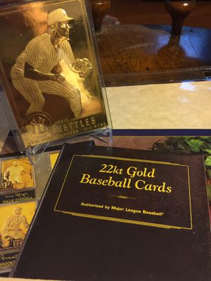22 karat gold Craig nettles baseball card authorized by MLB for Sale in Sterling Heights, MI