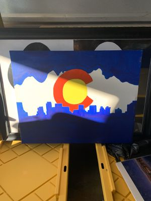 Handpainted CO art for Sale in Brighton, CO