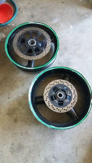 Gen 1 hayabusa wheels black for Sale in Hampton, GA
