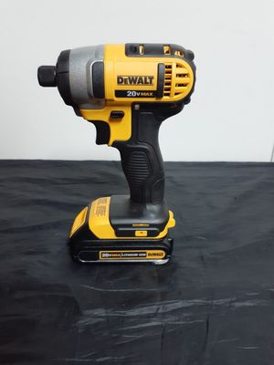 "Dewalt 20v 1/4"" Cordless Impact Driver (TOOL AND BATTERY ONLY) firm. for Sale in Anaheim, CA"