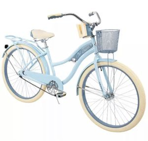 "Huffy 26"" Nel Lusso Women's Classic Cruiser Bike with Perfect Fit Frame Light Blue for Sale in Los Angeles, CA"
