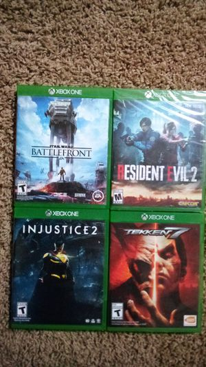 Xbox one games for Sale in Willowbrook, KS