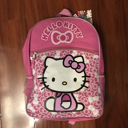 "Hello Kitty Pink Backpack 16"" NEW Child Size for Sale in Monterey Park,  CA"