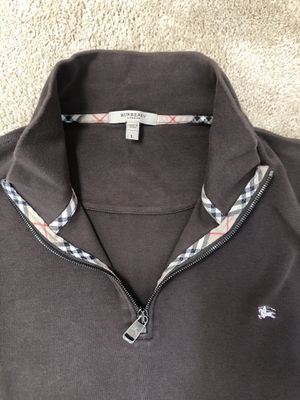 Burberry men's L,brown for Sale in Kent, WA