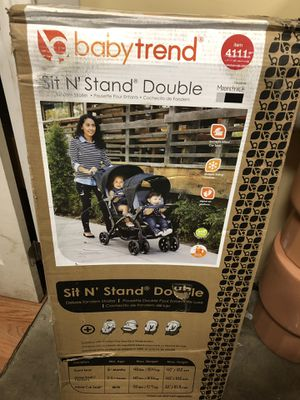 Baby trend double stroller for Sale in Long Beach, CA