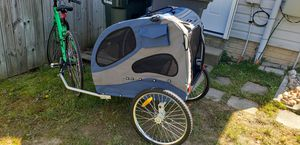 PetSafe Happy Ride Blue Dog Bicycle Trailer, Large for Sale in Oakton, VA