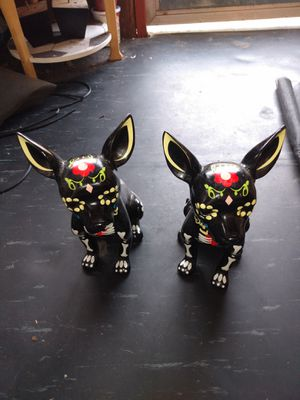 SugarSkull Chihuahua Statues (Collectables) for Sale in Clearwater, FL