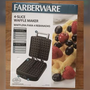 FARBERWARE Waffle Maker & JIFFY Baking Mix for Sale in Dearborn Heights, MI