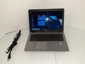 6th Gen Hp EliteBook 850 G3 Biz Laptop i5 6300 +New Battery W10 for Sale in Kennedale, TX