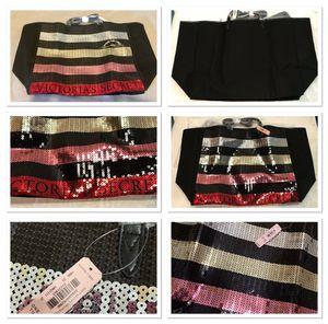 Victoria's Secret   Limited Time   Sequin   Tote   Bag   SALE   $25.00 🎁🎄🎁🎄🎁 for Sale in South El Monte, CA