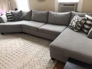 Diane Raymour & Flanigan Sectional Couch for Sale in Jersey City, NJ