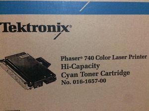 Xerox 16165700 Original Cyan High Yield Toner Cartridge Printer Consumables for Sale in Seattle, WA