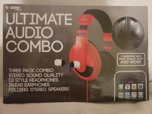 Ultimate Audio Combo - Headphones, Earbuds, Speaker for Sale in San Antonio, TX
